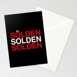 SOLDEN Austrian Flag Stationery Cards