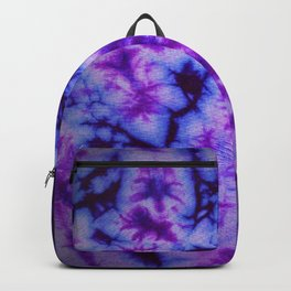 Tie Dye in Blue and Purple Backpack