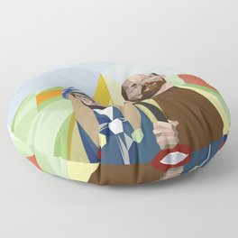 Nuts in May (West Country Gothic) Floor Pillow