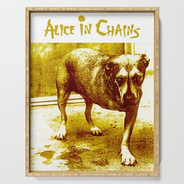 alice in chains dog tour 2020 2021 ngapril Serving Tray