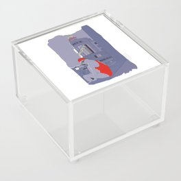 Diving in Madrid / Buceando en Madrid Acrylic Box