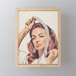 La Mexicaine Framed Mini Art Print