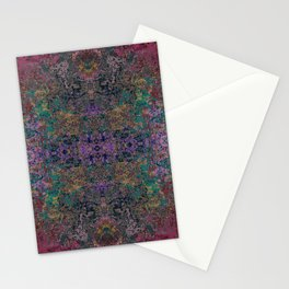 Honoda - Colorful Abstract Decorative Bohemian Boho Style Butterfly Stationery Cards