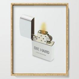Die Hard - Alternative Movie Poster Serving Tray