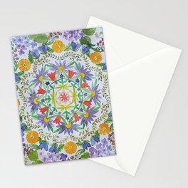 Flower Mandala Stationery Cards