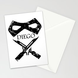 Diego Hargreeves: Number 2 Stationery Cards