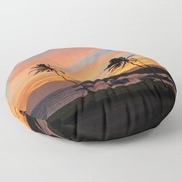 Poipu Postcard Moment Floor Pillow