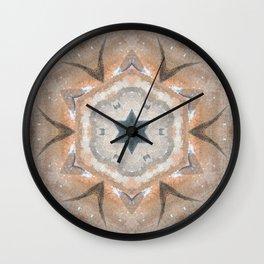 Bushfire Gum Medallion 6 Wall Clock