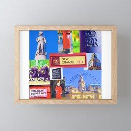 London sights Framed Mini Art Print
