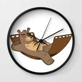relaxed Baer Wall Clock