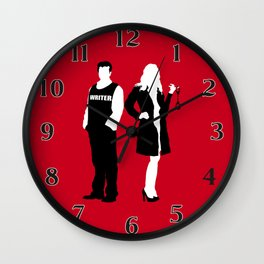 Castle & Beckett Wall Clock