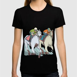 Horse racing jockey T-shirt