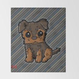Troy - Silky Terrier Throw Blanket