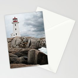 Peggy's Cove Light House -- Nova Scotia Stationery Cards