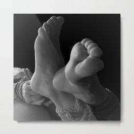 Bondage & Feet Metal Print