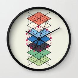 Fractal pattern Wall Clock