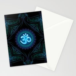 shanti om Stationery Cards