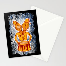 Conjoined Twins Circus Freaks Stationery Cards
