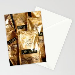 Godiva Chocolate Coffee Lovers Stationery Cards