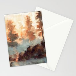 Clearwater Forest, Idaho Stationery Cards