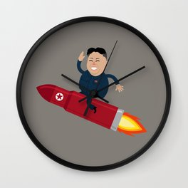 The Nuclear Rider Wall Clock