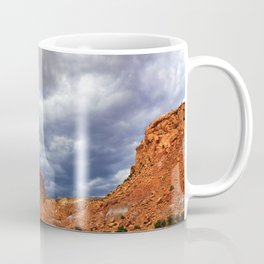 Before the Rains Came, on the Mesas and Buttes of New Mexico Coffee Mug