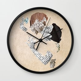 Retro Love Wall Clock