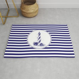 Marine - lighthouse Rug