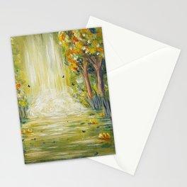 Acrylic Painting: Breathe Stationery Cards