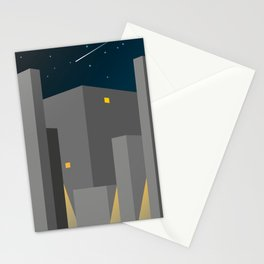 BUILDINGS_01-NIGHT HAWKS Stationery Cards