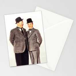 Laurel and Hardy Stationery Cards