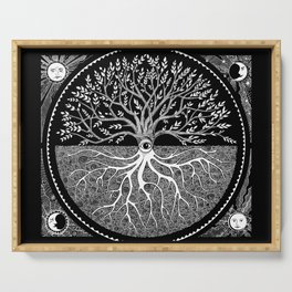 Druid Tree of Life Serving Tray