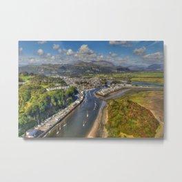 Glaslyn Estuary Metal Print
