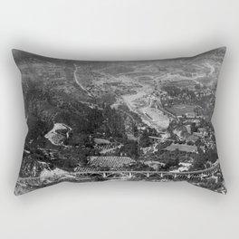 California Pasadena NARA 23934831 Rectangular Pillow