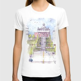 Monument Terrace at the Lynchburg Museum T-shirt