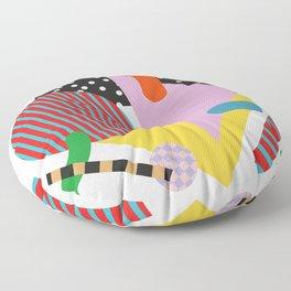 Modernist Scandinavian Geometric Floor Pillow