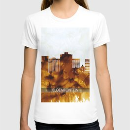 Bloemfontein South Africa Skyline T-shirt