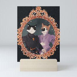 royal cats Mini Art Print