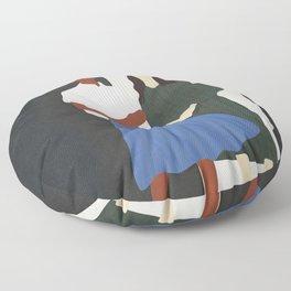 Model Pair Flow Floor Pillow