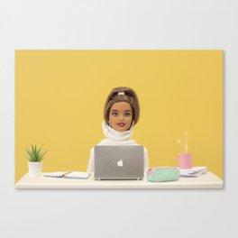 Super productive Canvas Print