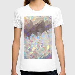 Iridescent Aura Crystals T-shirt