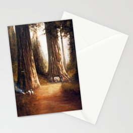 Giant Sequoia Grove by Thomas Hill Stationery Cards
