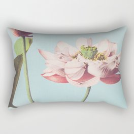 Ogawa Kazumasa - Lotus Flowers Rectangular Pillow