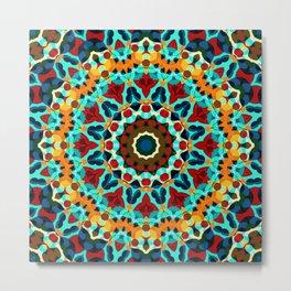Geometric ornament Metal Print