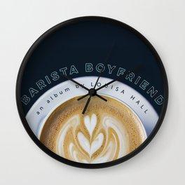Barista Boyfriend - Heart Strings Wall Clock