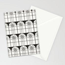 Window Pattern Stationery Cards
