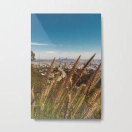 Mulholland View III Metal Print