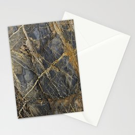 Natural Geological Pattern Rock Texture Stationery Cards