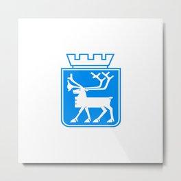 flag of Tromsø Metal Print