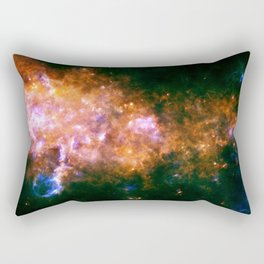 The Milky Way galaxy in the Eagle constellation Rectangular Pillow